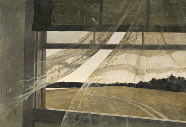 Painting Andrew Wyeth Wind from the Sea NGA