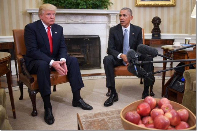 Trump What have I got myself into Trump meets with Obama November 2016 uncredited photo via NY Mag