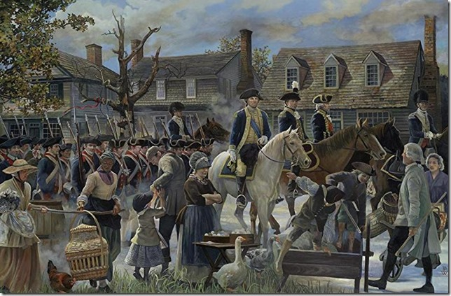 Washington March to Yorktown