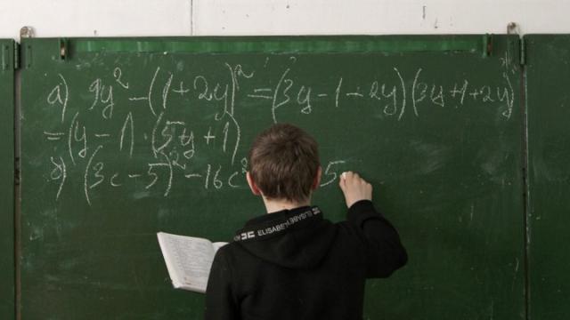 Math kid at greenboard VASILY FEDOSENKO REUTERS via the Atlantic