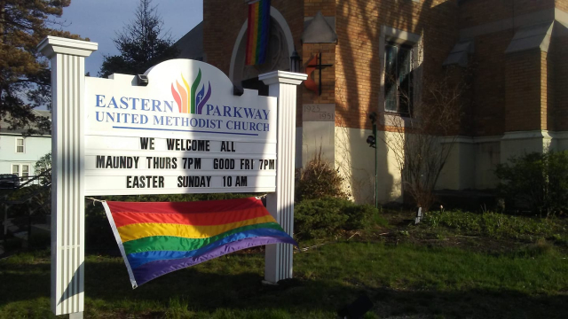 2019 04 22 Niskayuna Easter Monday Eastern Parkway United Methodist We Welcome All