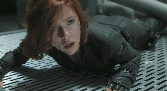 Avengers First Black Widow shows off her superpower