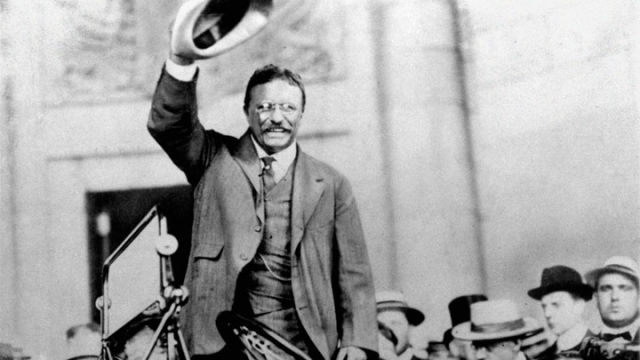 TR No man ever had a better time being president TR campaigning for election 1904 uncredited AP photo via the Atlantic