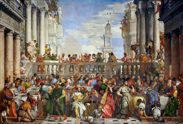 Painting Bible Veronese Wedding at Cana Wikipedia