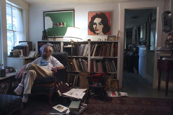Poers and Writers Donald Hall at home in Wilmot NH Gary Knight 2012 via Beth Macy