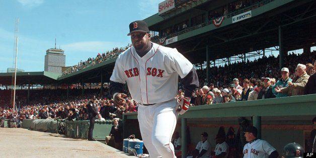 Baseball MLB Red Sox Mo Vaughn Uncredited Undated AP Photo via Huffington Post