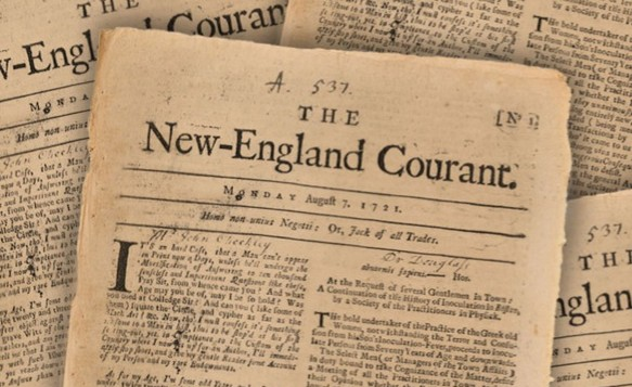 Franklin The New England Courant Benjamin Franklin Historical Society - Edited