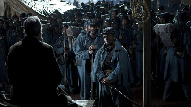 Movies and TV Lincoln Bringing Abe down from his monument Day Lewis Domingo Oyelowo - Edited