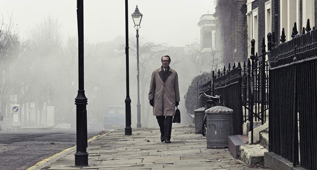 Movies and TV Tinker Tailor Smiley in a fog Gary Oldman 2012 - Edited