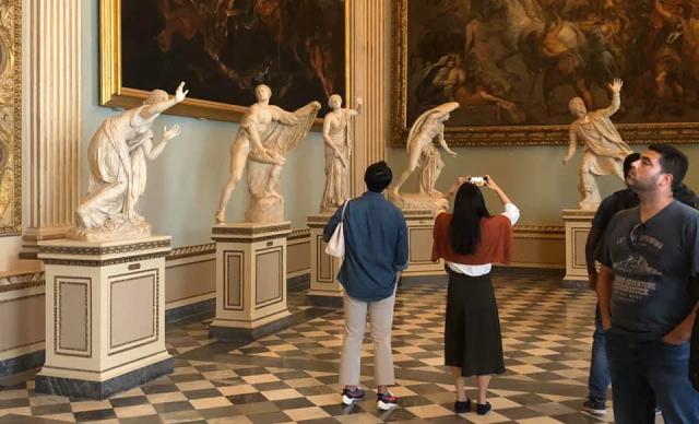 Postcard Jean 2019 10 18 Florence Italy Ufizi Gallery