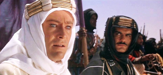 Movies and TV Lawrence of Arabia O Toole and Sharif