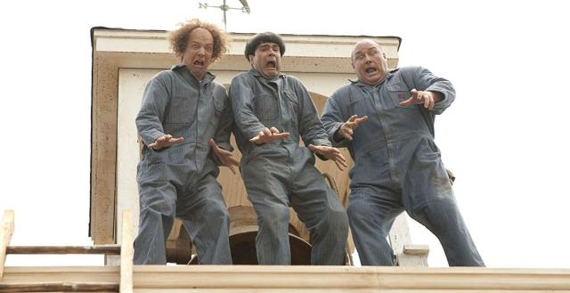 Movies and TV Three Stooges 2012 Nyah nyah nah - Edited
