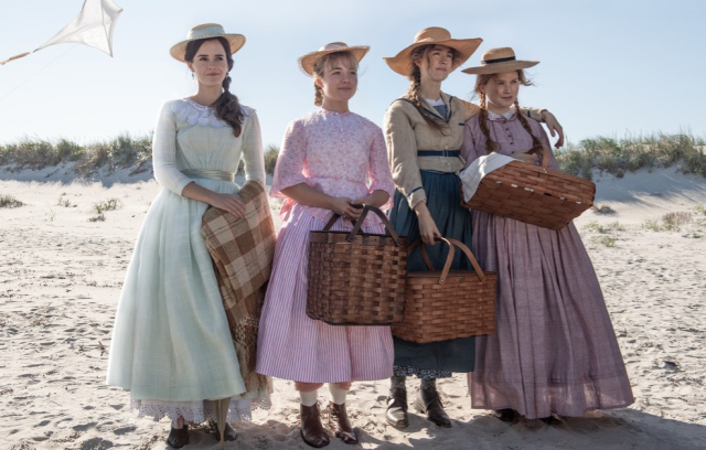 Movies and TV Little Women 2019 The March girls at the seashore - Edited