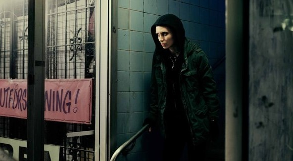 Movies and TV Dragon Tattoo Fearles Rooney Mara - Edited