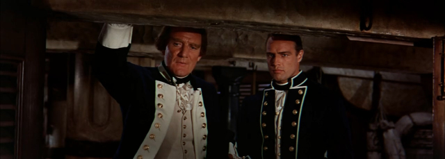Movies and TV Bounty 1962 Howard and Brando as Bligh and Christian