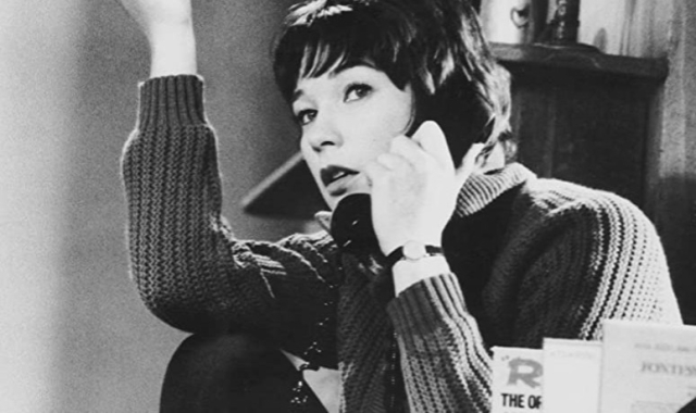 Moves and TV Shirley MacLaine. Two for the Seesaw - Edited