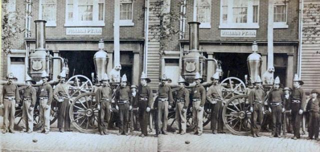 Lincoln Philadelphia Fire Company 1865 Robert Newman Library Company of Philadelphia