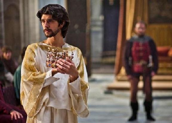Shakespeare Richard II Hollow Crown Ben Wishlaw as Richard Rory Kinnear as Bollingbroke