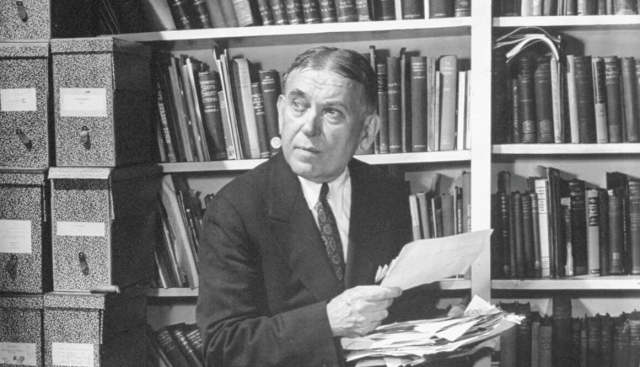 Poets and Writers H L Mencken Undated and uncredited via Baltimore Magazine - Edited