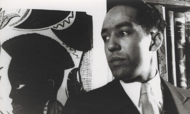 Poets and Writers Langston Hughes Photo Carl Van Vechten c Van Vechten Trust Yale Library Poetry Foundation - Edited