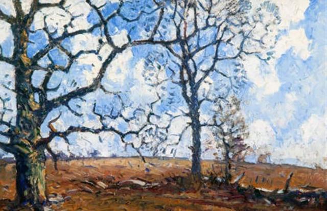 Painting Guy Wiggins Winter Brilliance (2)