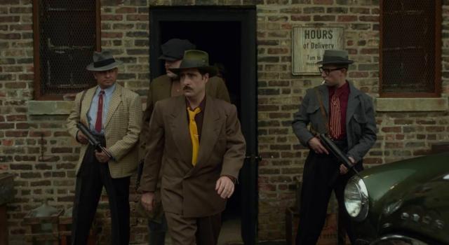 Movies and TV Fargo TV Series S4 Jason Schwartzman as Josto Fadda and henchmen FX (3)