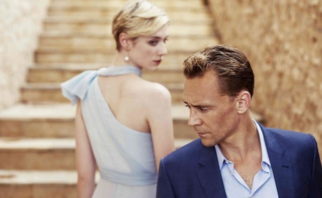 Movies and TV The Night Manager Femme fatalism on the stairs Hiddleston Debiki  - Edited