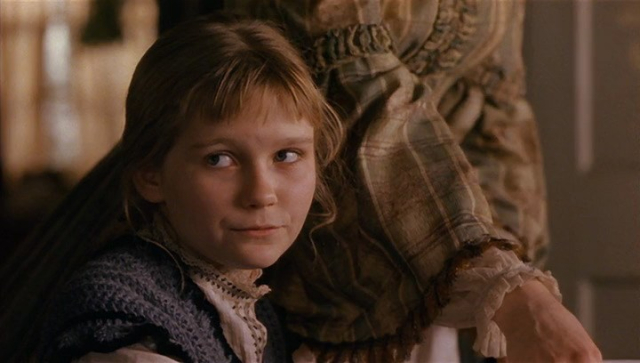 Movies and TV Little Women 1994 Kirstin Dunst as Amy Her Nose
