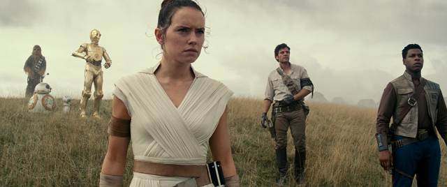 Movies and TV Star Wars IX TROS Rey and her crew