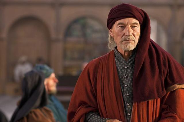 Shakespeare Richard II Hollow Crown Patrick Stewart as John of Gaunt