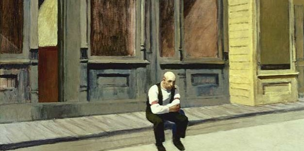 Paintings Hopper Detail Sunday 1926 Phillips Collection - Edited