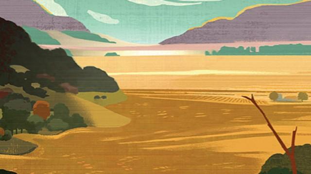 Books Cover Steinbeck Pastures of Heaven Mick Wiggins Penguin Classics - Edited
