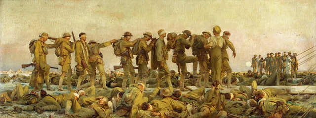 Paintings Sargent Gassed 1919 Imperial War Museum via Wikipedia