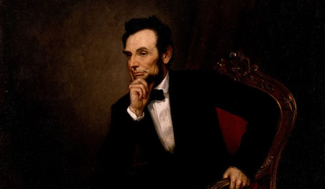 Lincoln Portrait George Healy 1869 via Wikimedia Commons Google Art Project (2)
