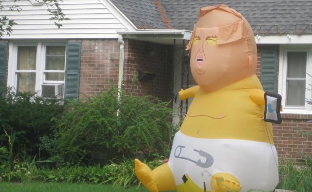 2020 08 22 Niskayuna Trump baby wants attention - Edited
