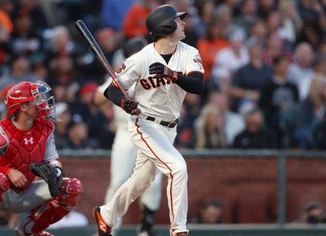 Baseball MLB NL Giants Mike Yazstrzemski SF v Phils 8 8 19 Nhat V Meyer Bay Area News Group via Mercury Newsjpg