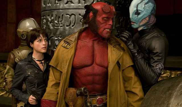 Movies and TV Hellboy II Golden Army Liz Red Abe Johann - Edited