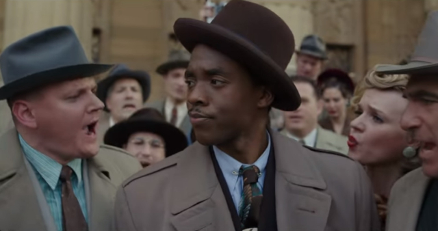 Movies and TV Marshall Never a dull or lazy moment Chadwick Boseman as Thurgood Marshall