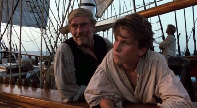 Movies and TV Treasure Island 1990 Heston as Silver Bale as Jim - Edited