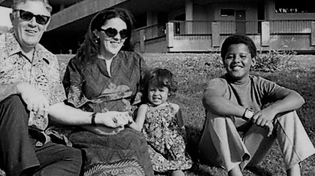 Obama Lessons from his mother Gramps Stanley Dunham mother Ann Dunham sister Maya young Barry Maya Soetoro Ng via NPR (4)
