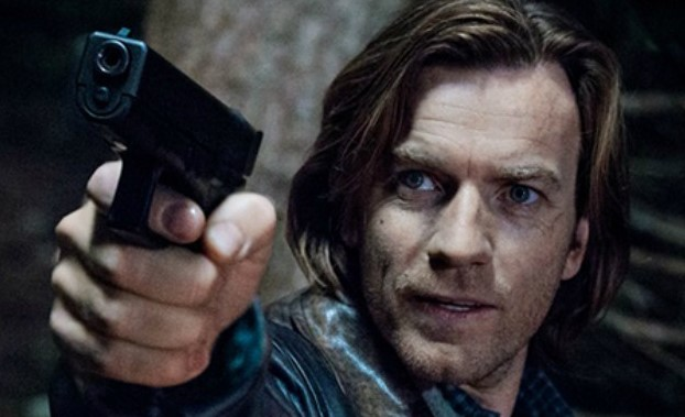 Movies and TV Our Kind of Traitor Ewan McGregor as Peregrine Makepiece not pointing the gun at his students (2)