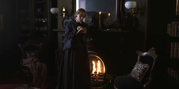 Movies and TV Little Women 2019 Jo catches fire