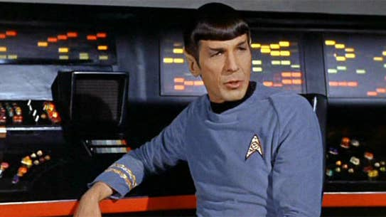 Movies and TV Star Trek TOS Spock insisting on science