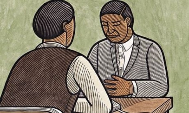 Books Rahman In the Light of What We Know illustration by Clifford Harper for the Guardian  - Edited