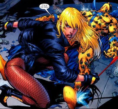 Smallville_black_canary_comics